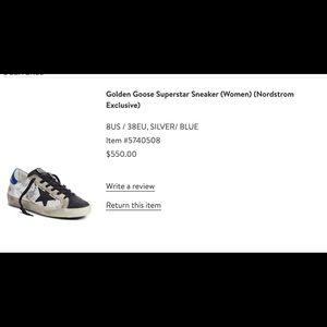 Golden Goose Supserstar Sneakers